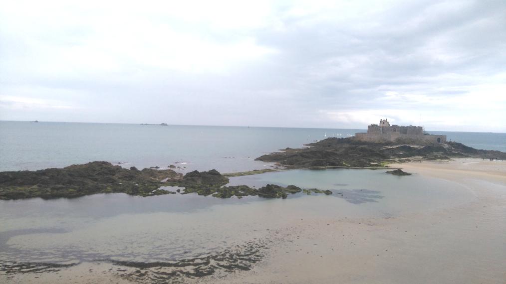 A Saint Malo le fort national est un incontournable