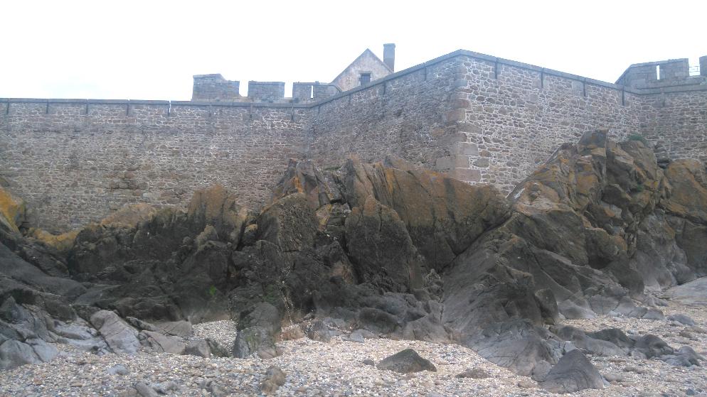 Fort national est une visite à faire à Saint Malo