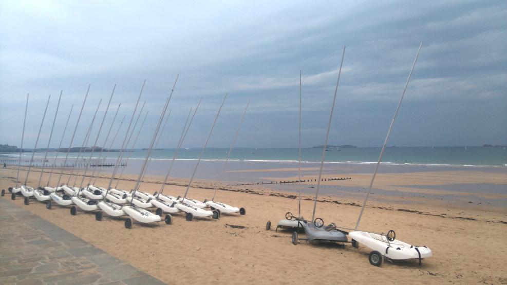 plage sympa à Saint Malo