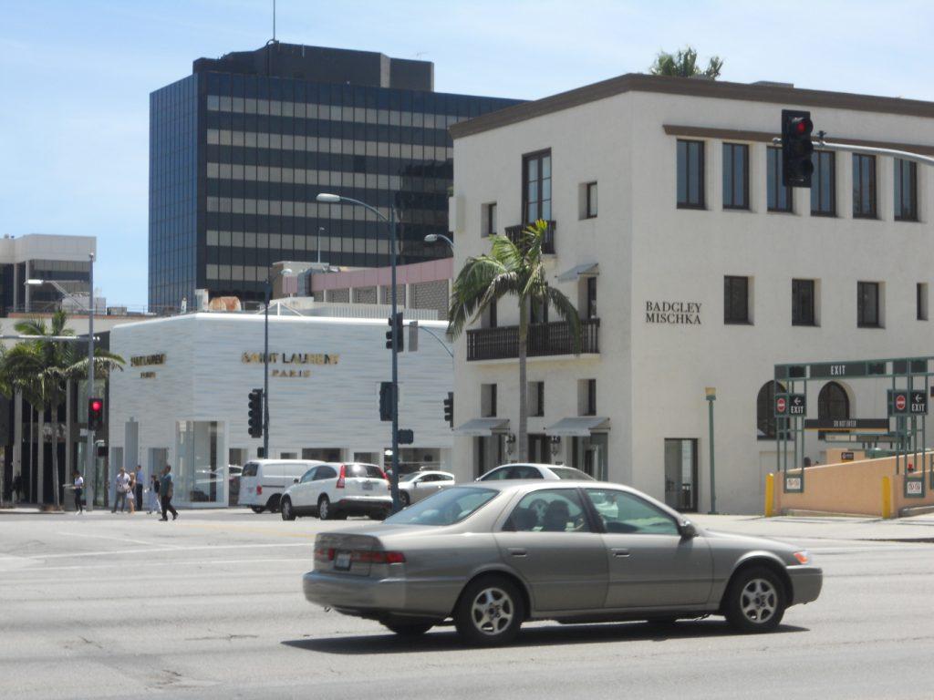 le quartier de Beverly Hills