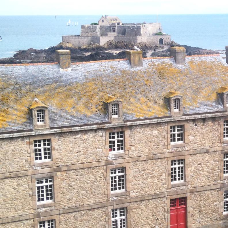 visite du château de Saint Malo
