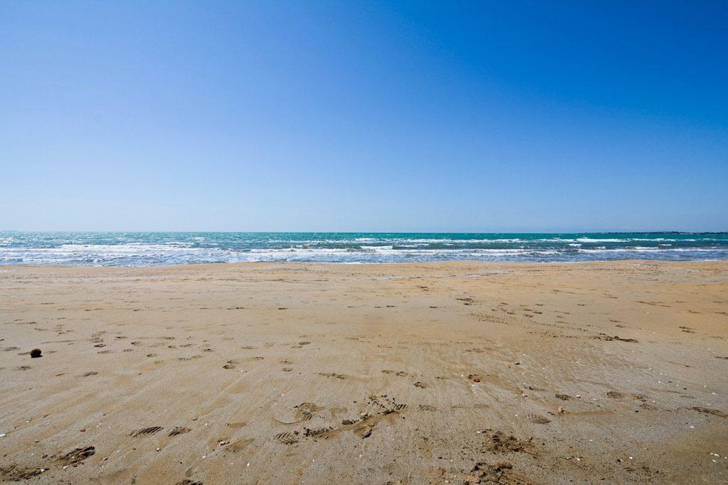 plage en Sicile