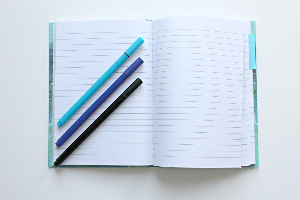 rédaction d'un article de blog