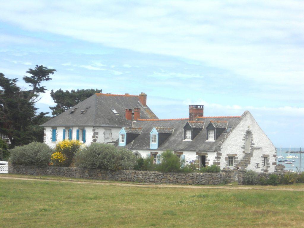 maison magnifique sur les îles Chausey