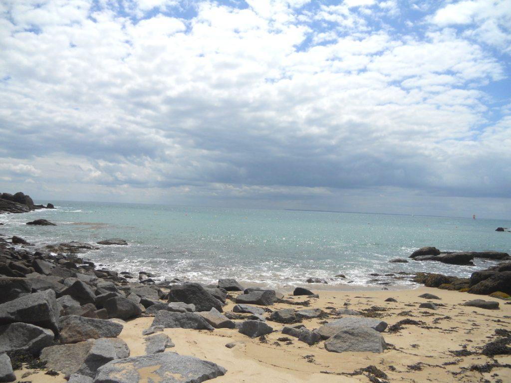 plage paradisiaque sur les îles Chausey