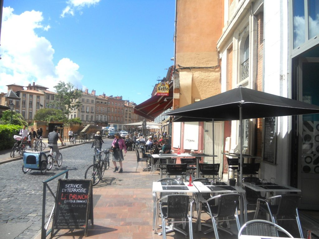 week-end à Toulouse entre copines