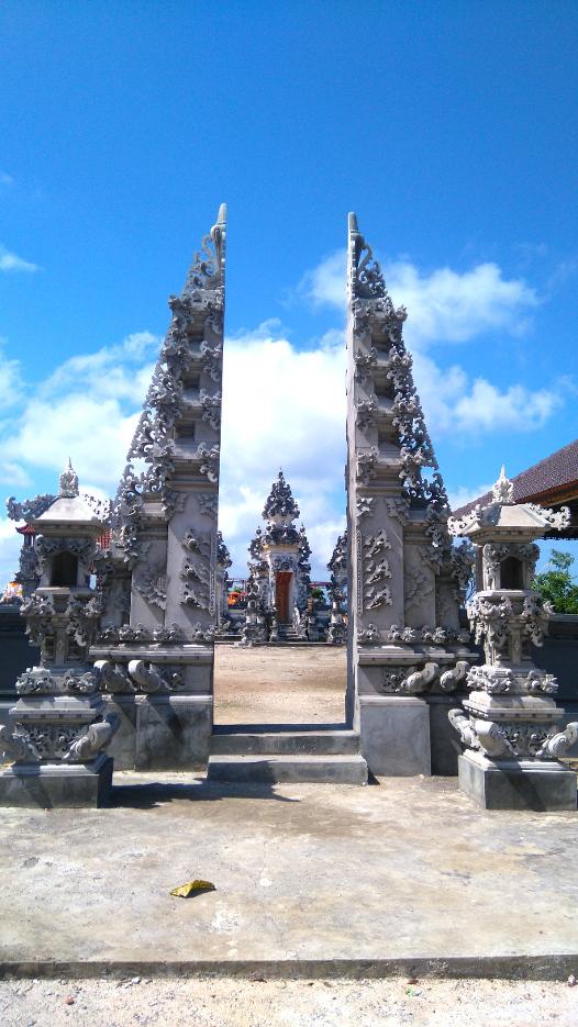 beaux temples en Indonésie