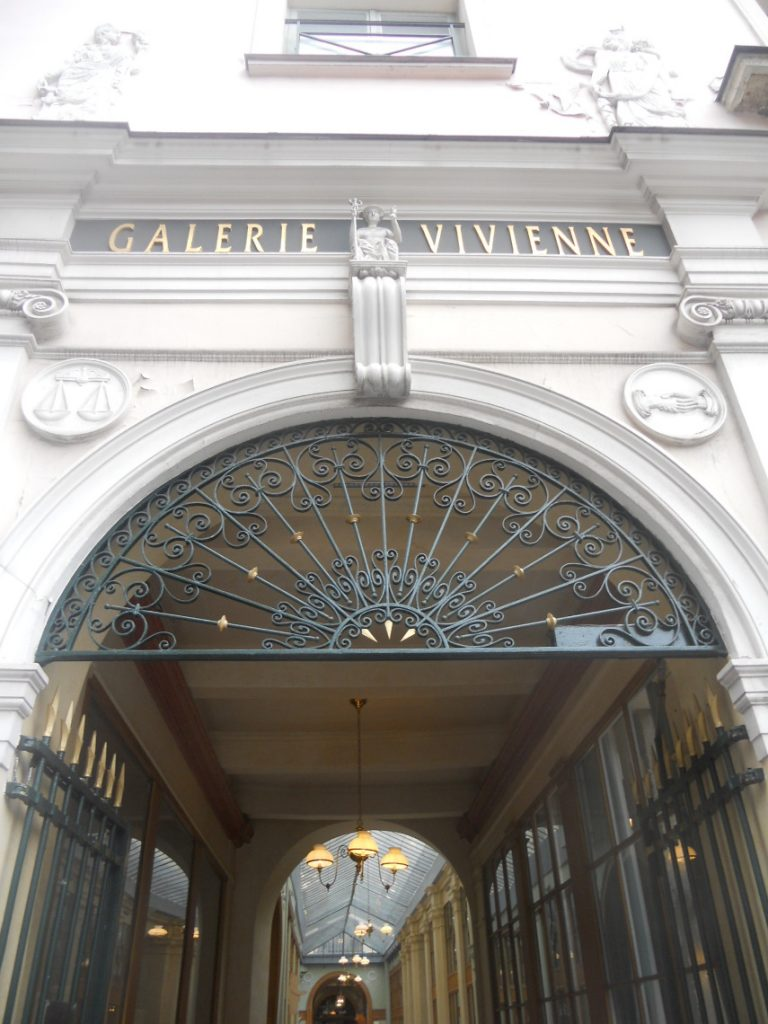 la fameuse galerie Vivienne