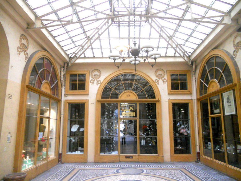 boutiques de la galerie Vivienne