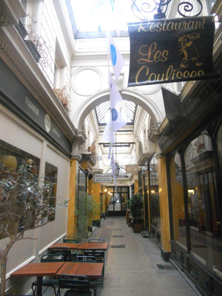 restaurants parisiens dans passage des panoramas