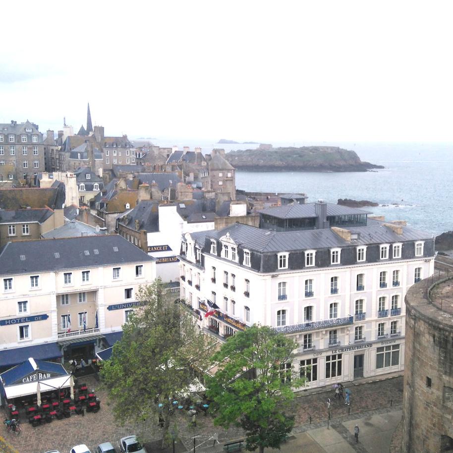 vue depuis château de Saint-Malo