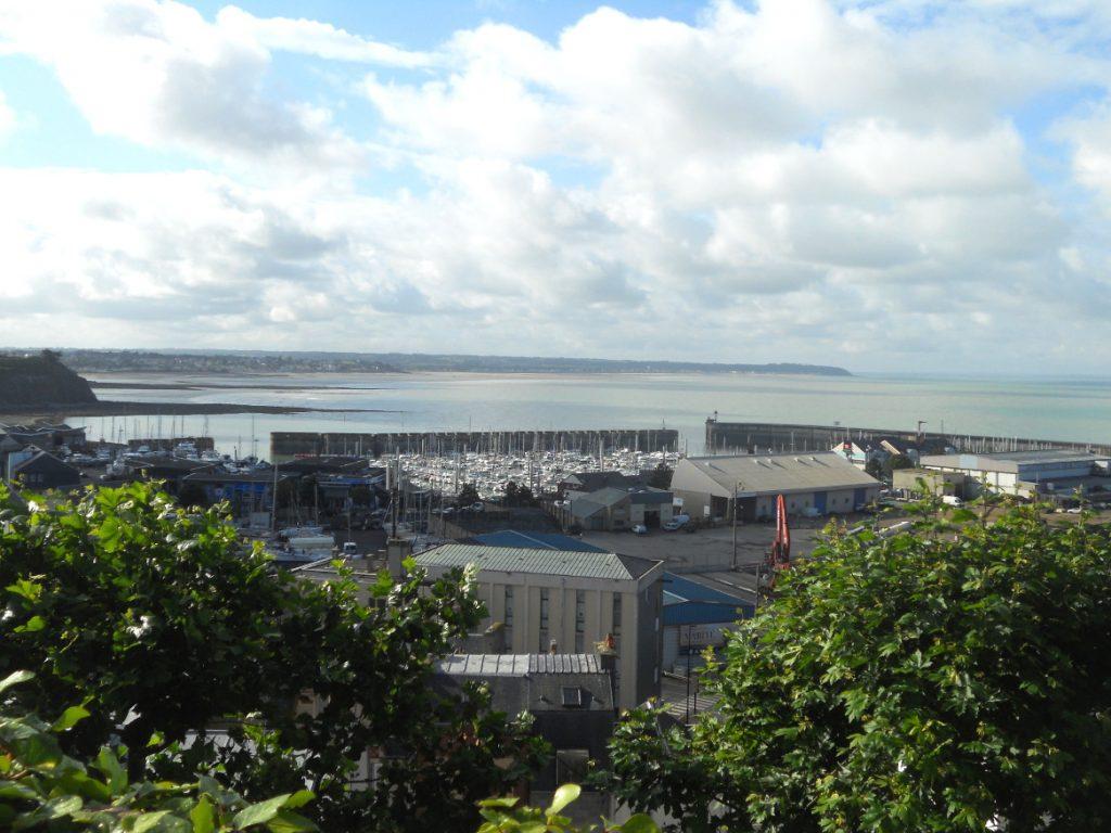 vue sur port de Granville
