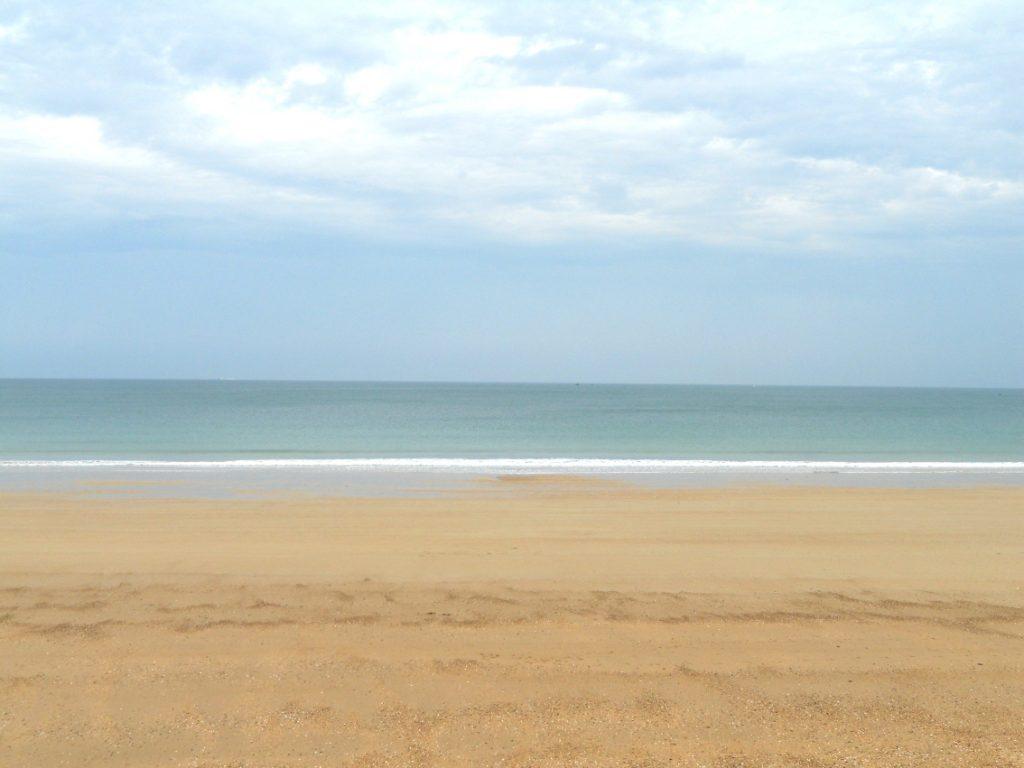 belle plage à Saint-Malo