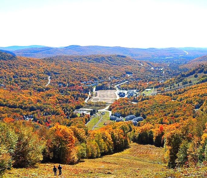 faire du ski autour de Québec