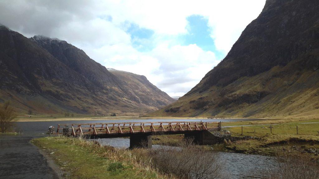 paysage écossais fabuleux