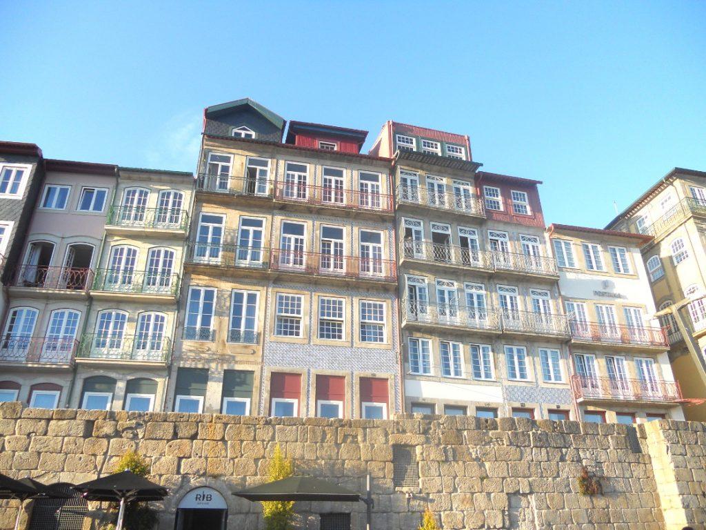 les façades colorées de Porto