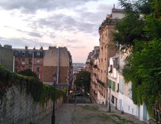 soirée à Montmartre