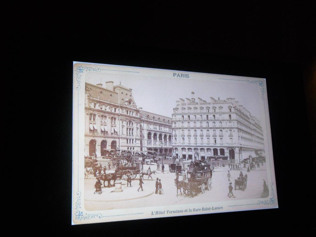 visite d'un grand hôtel parisien