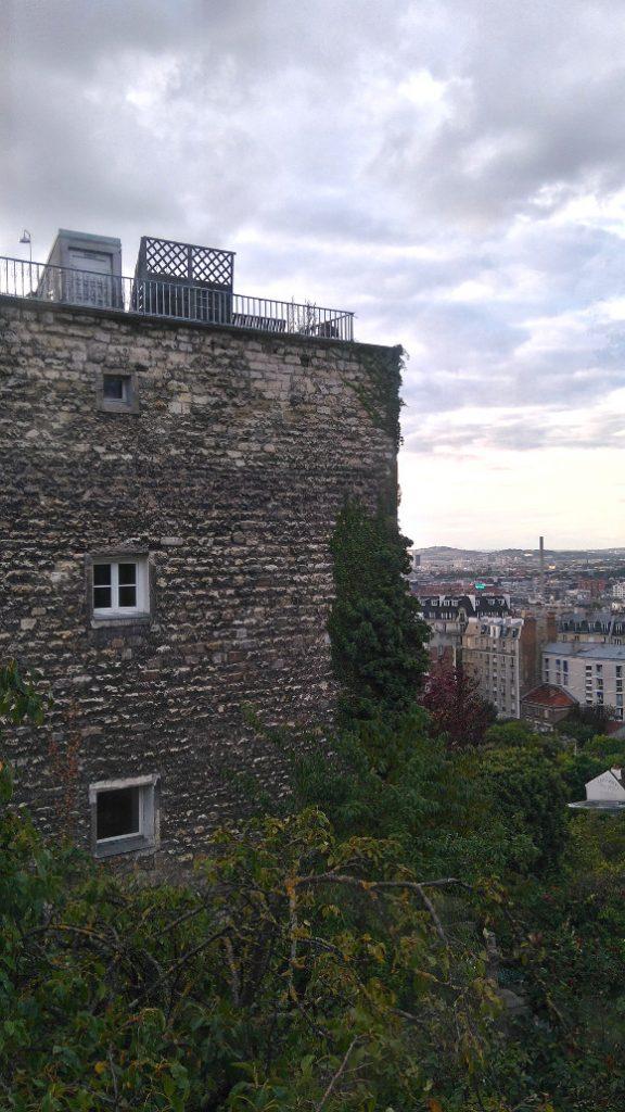 la soirée à Montmartre