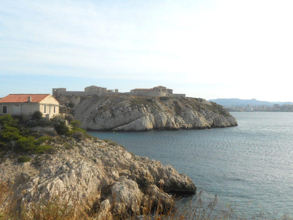 panorama sur les îles du Frioul