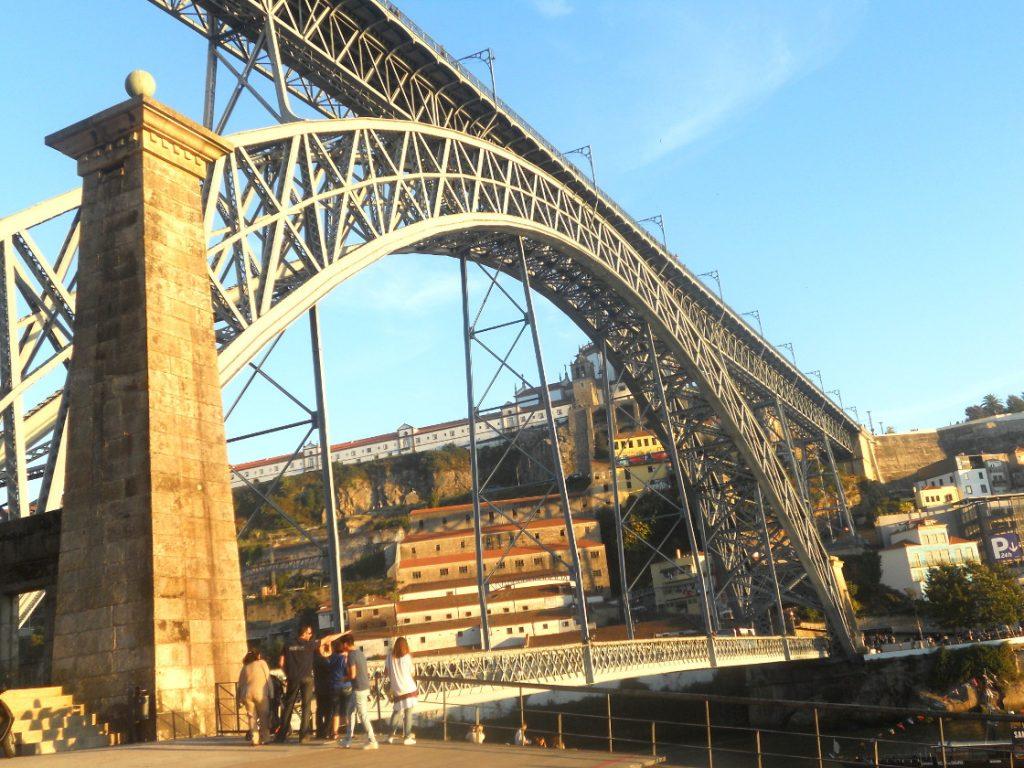 le pont Dom Luis à Porto