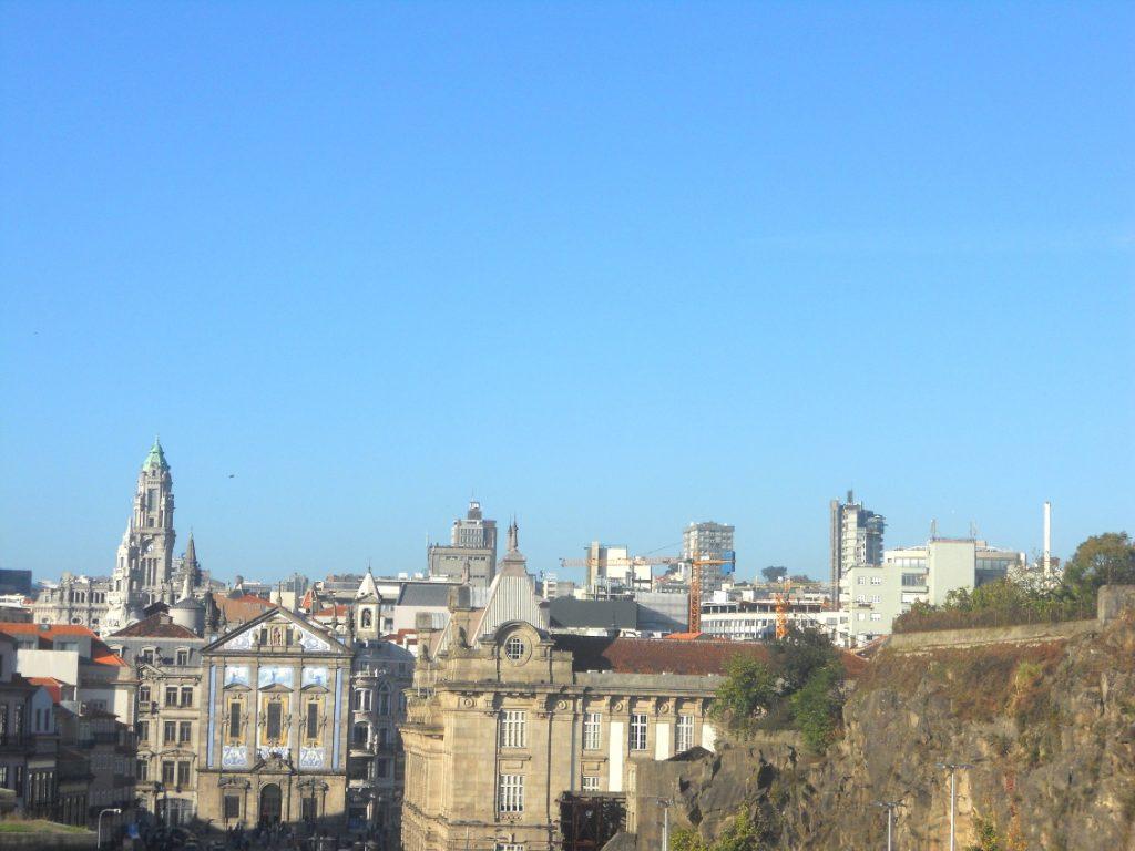 panorama sur le centre ville de Porto