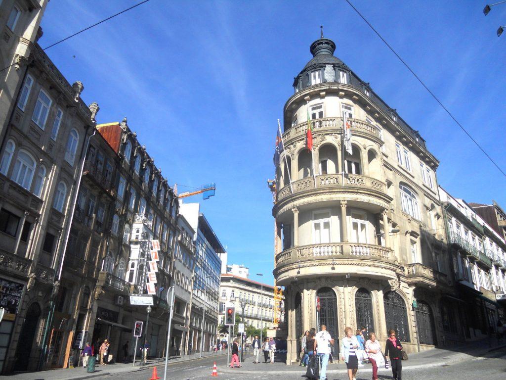 quartier du centre ville de Porto