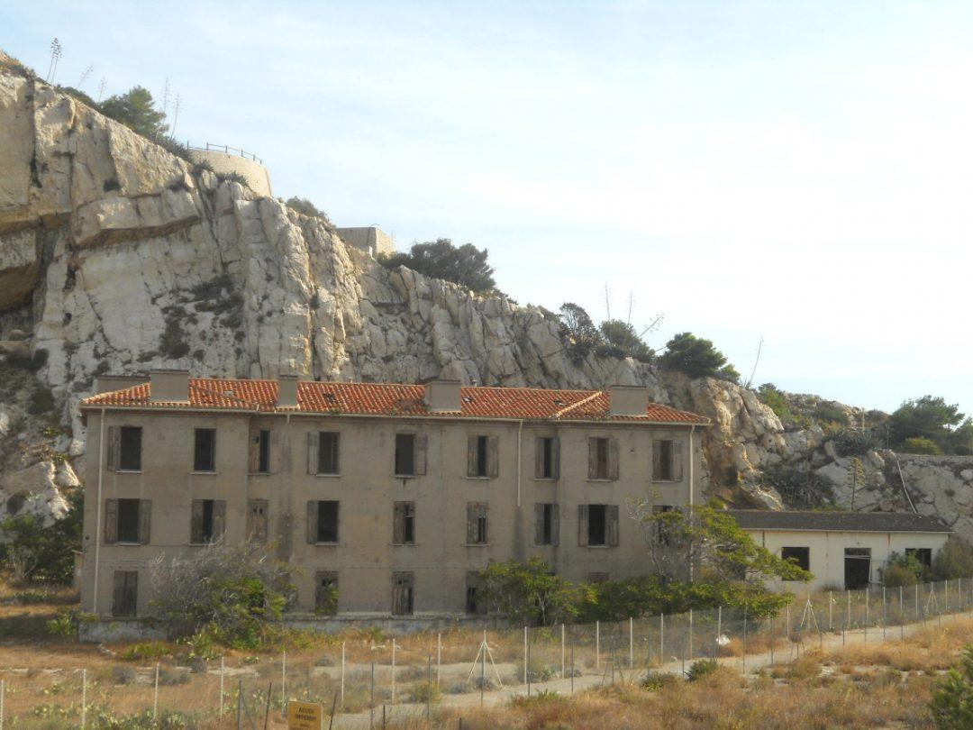 ruines des îles du Frioul