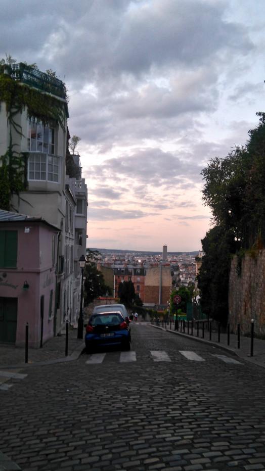 vue à Montmartre