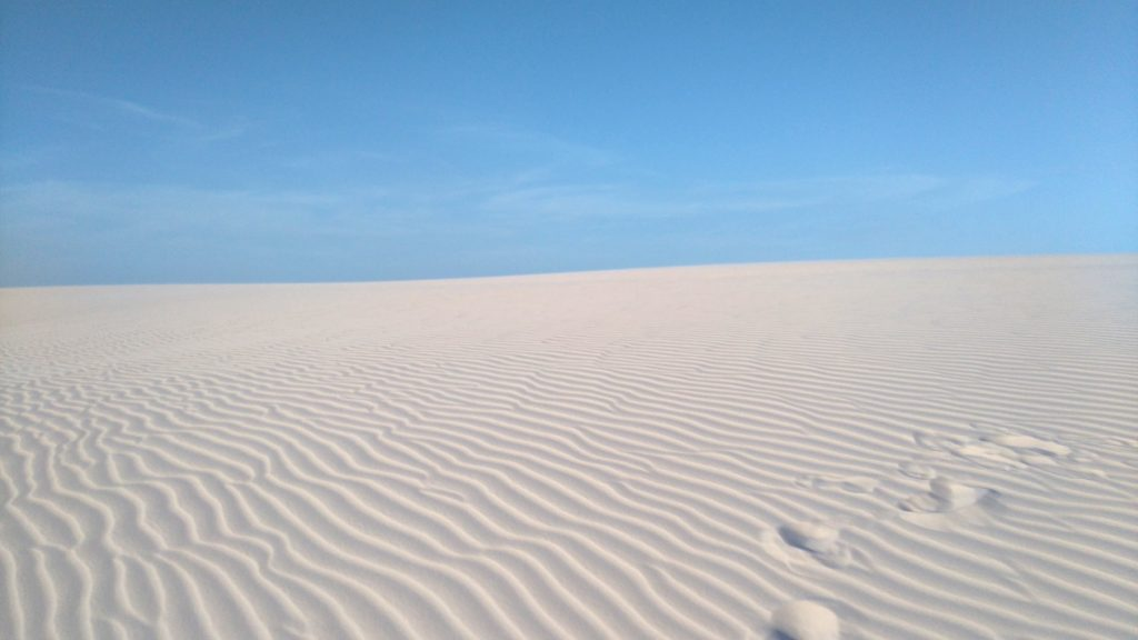 le paradis dans le désert