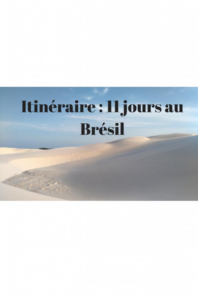 itinéraire de 11 jours au Brésil