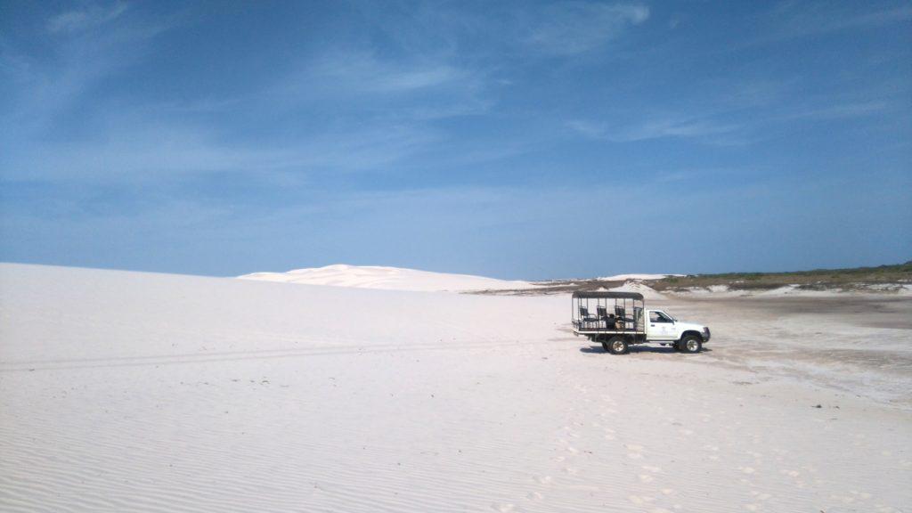 désert du Lencois au Brésil