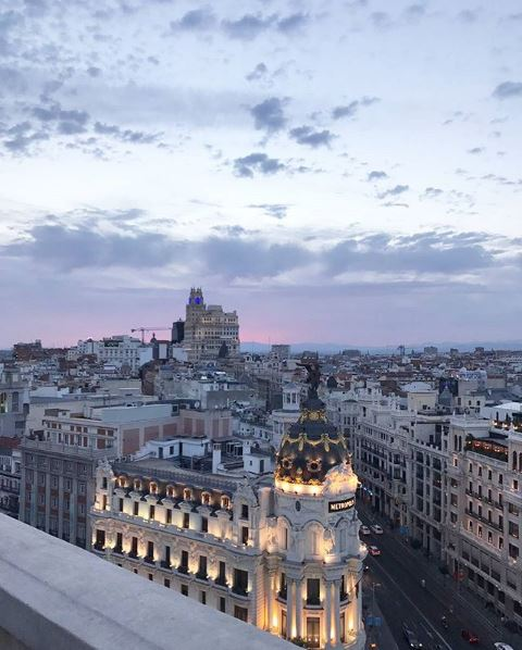 vie à Madrid