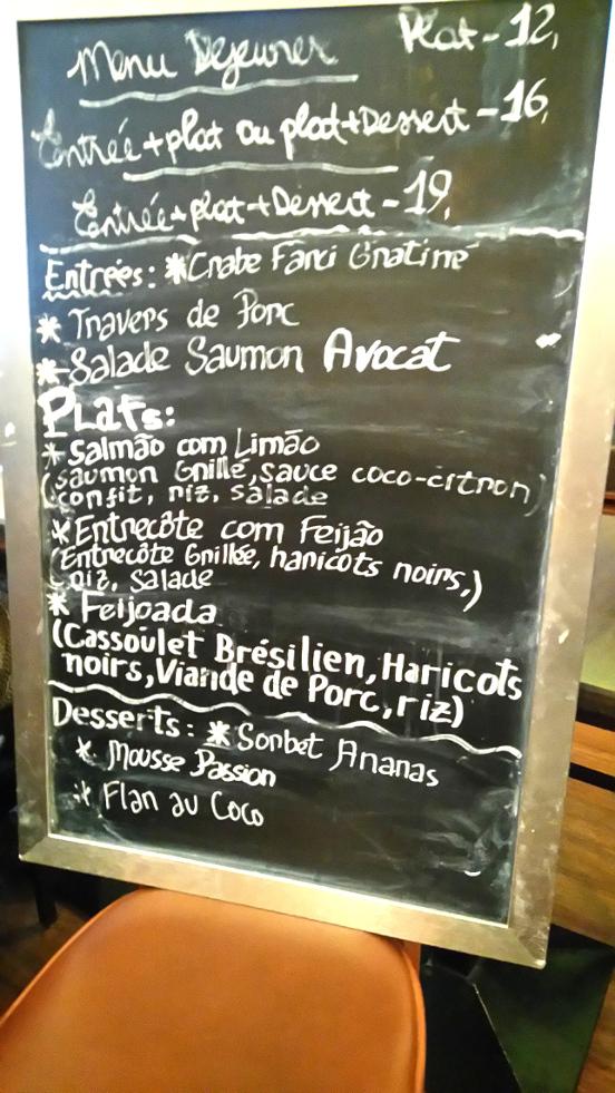 où manger brésilien à Paris