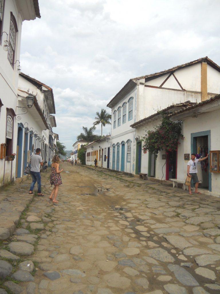 paraty au Brésil