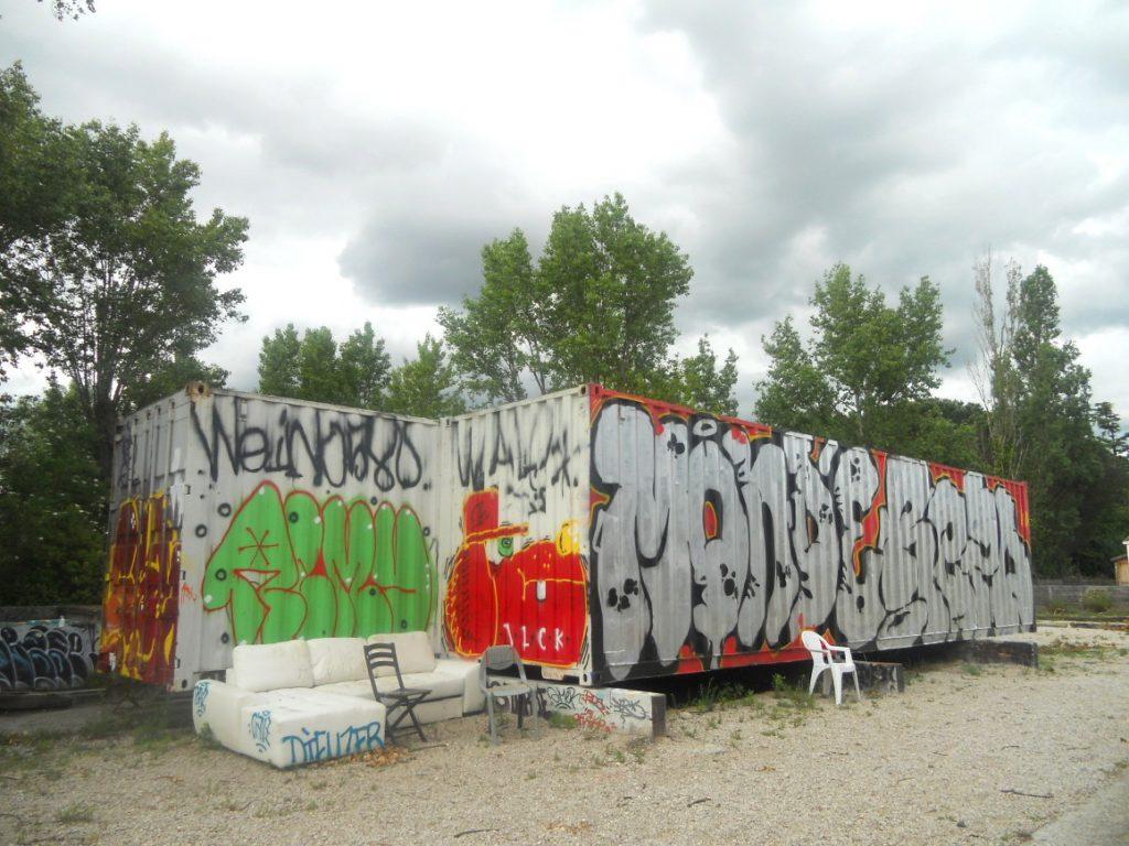 Espace cobalt à Toulouse c est le street art