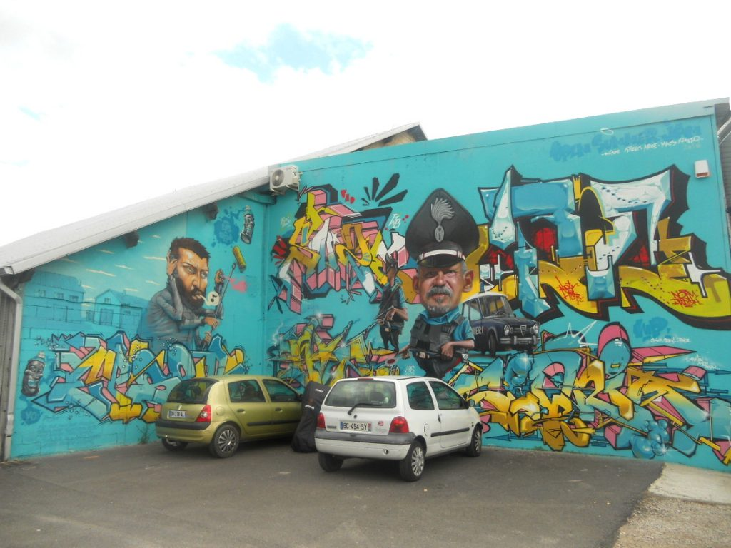 street art à Toulouse en 2017