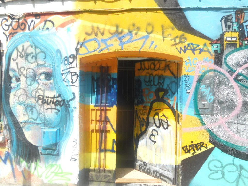 rue Gramat à Toulouse début du street art