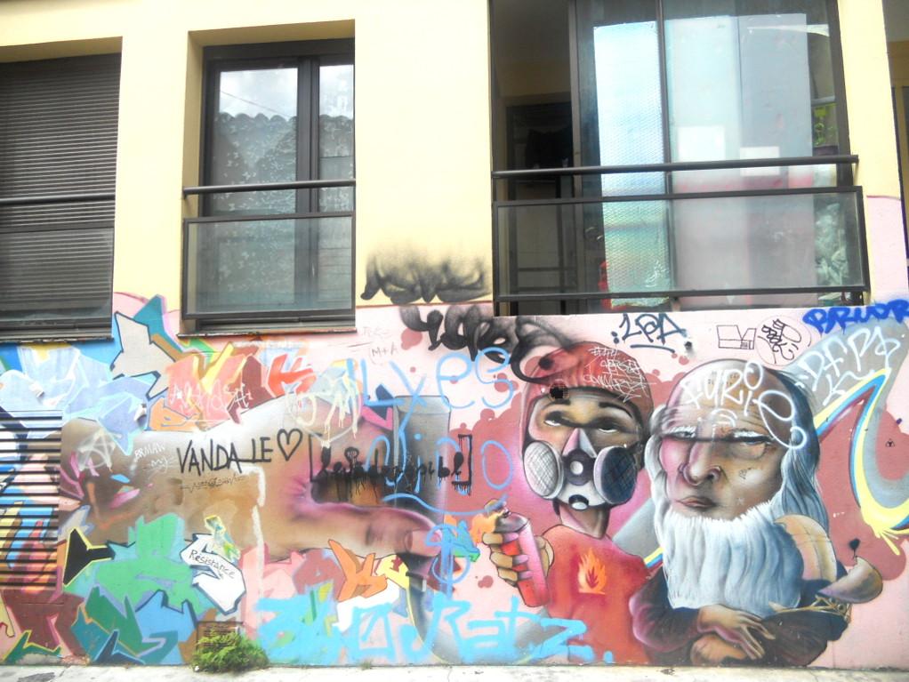 Toulouse et ses graffitis