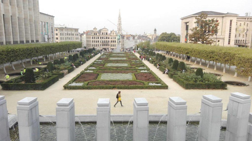 chouette jardin à Bruxelles