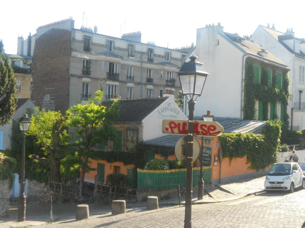 cabaret à Montmartre