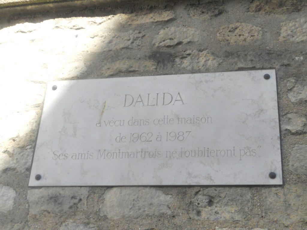maison de Dalida à Paris