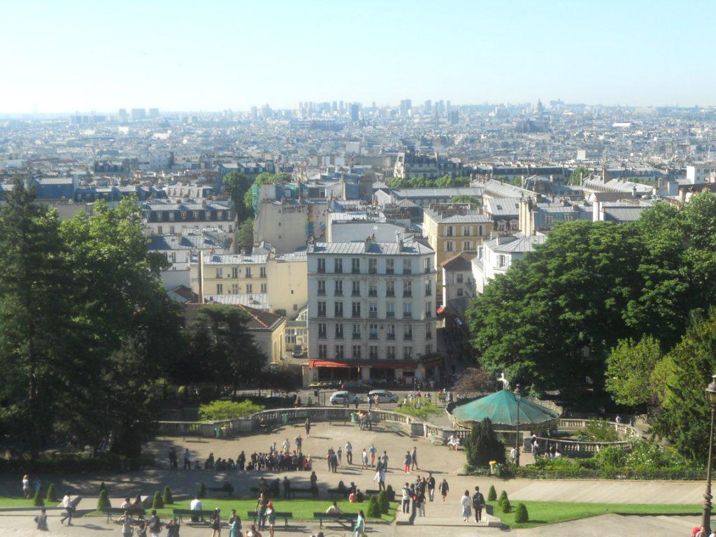 basilique sacré coeur à Paris