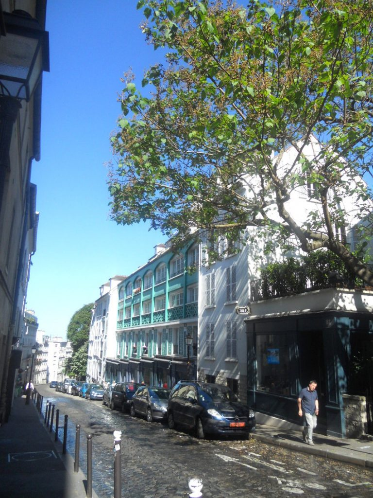 rues parisiennes