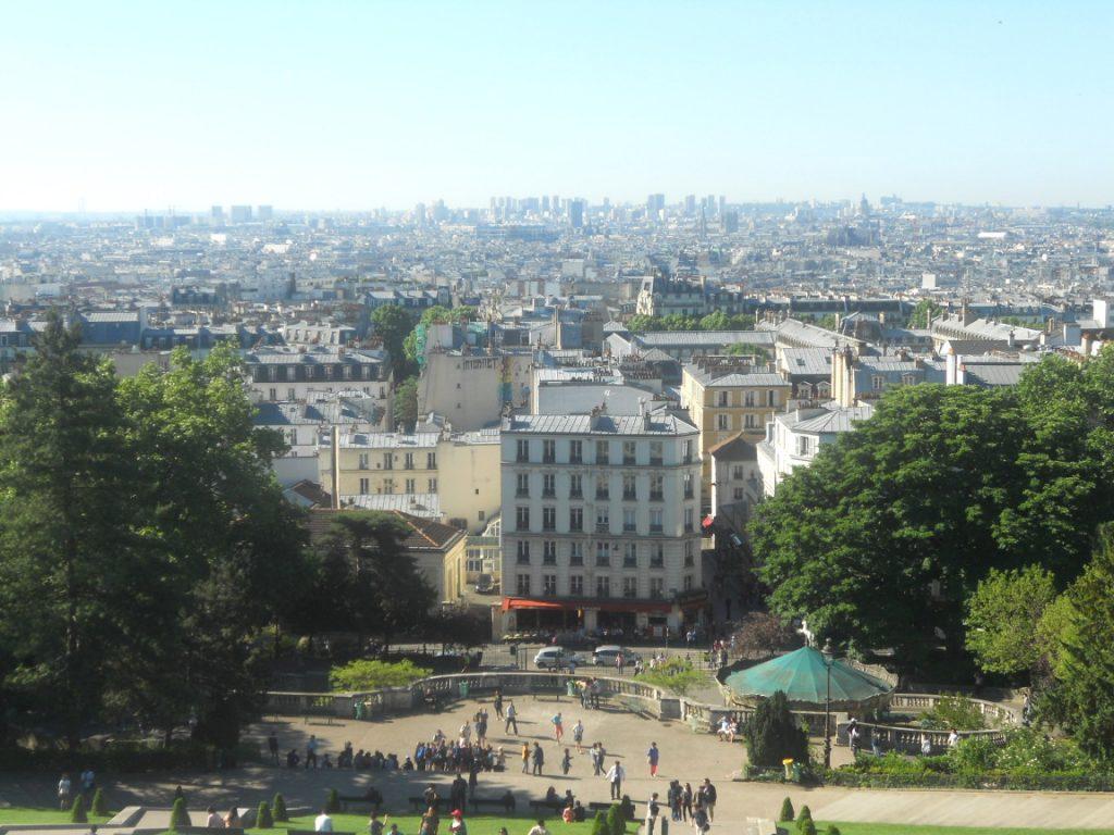 panorama magnifique de Paris