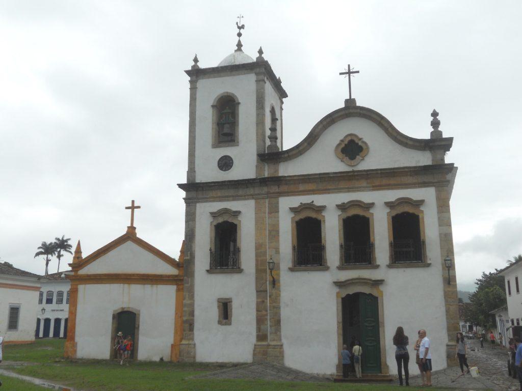église à Paraty