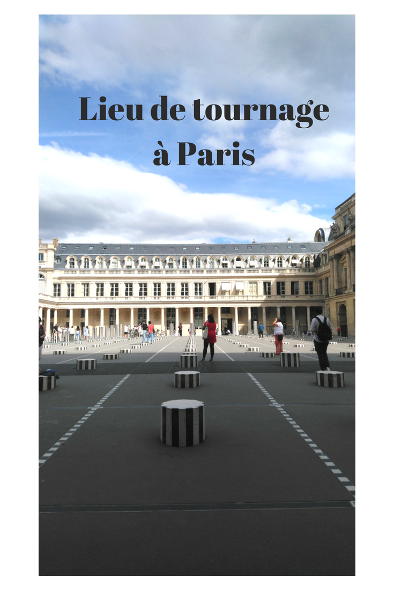 lieu de tournage à Paris