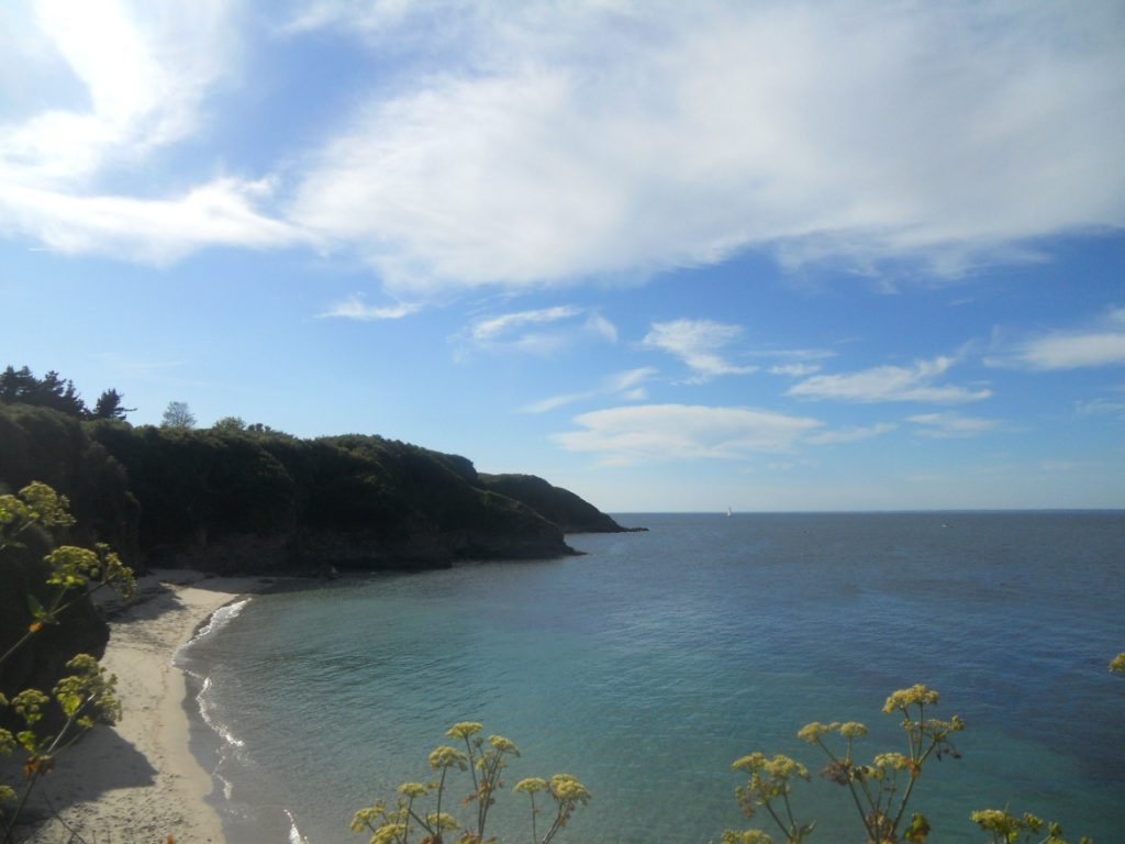 plage sur l'île de Groix