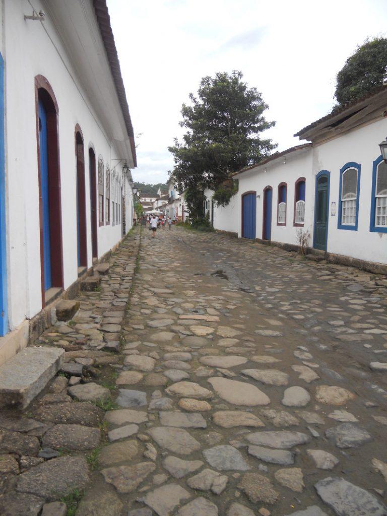 les rues pavées de Paraty