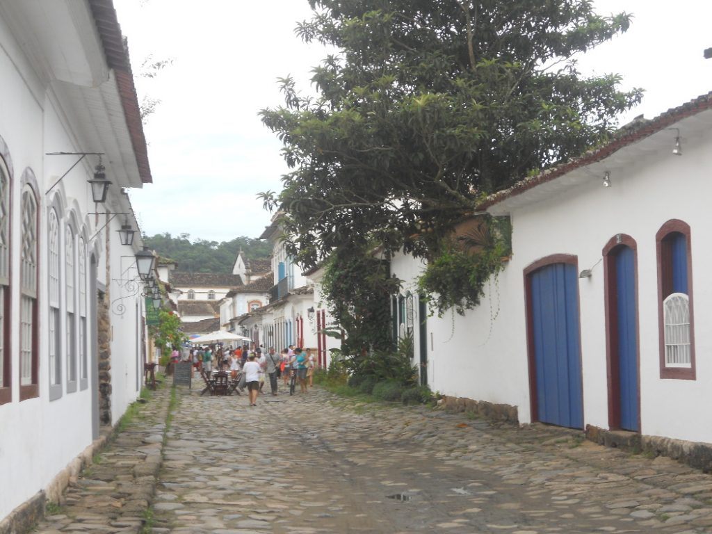 le centre historique de Paraty